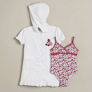 Terry Cloth Coverup  Al & Ray Baby Baby & Toddler Clothing Swimwear
