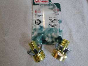GARDEN HOSE Replacement Fitting KIT For 1/2 I.D. Hose