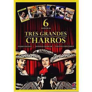 Tres Grandes Charros (6 Peliculas) (Spanish) Movies