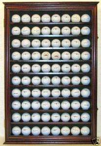 80 Golf Ball Display Case Cabinet Rack, Ball Holder