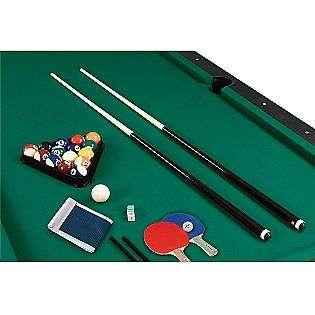 7ft. Auburn Billiard Table with Bonus Table Tennis Top  Sportcraft