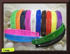 Pick 1, Set of 4 Banana Hair Clip Claw Comb NEW BB