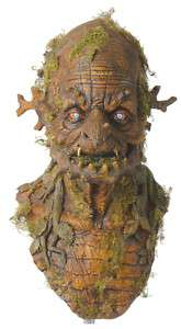 HALLOWEEN ADULT TREE WITCH MONSTER MASK PROP