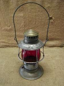 CM&StPRy Railroad Lantern Antique Chicago Milwaukee St Paul Rare 6583