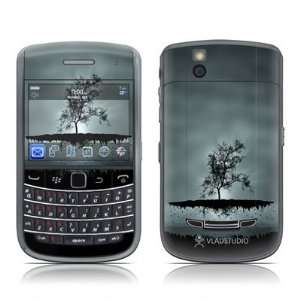 Flying Tree Black Design Skin Decal Sticker for Blackberry