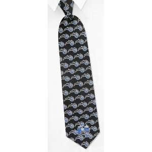 NBA Orlando Magic Logo black silk Tie