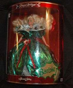 1995 Happy Holiday Barbie Doll NIB #14123