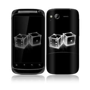 Crystal Dice Design Decorative Skin Cover Decal Sticker for HTC Desire