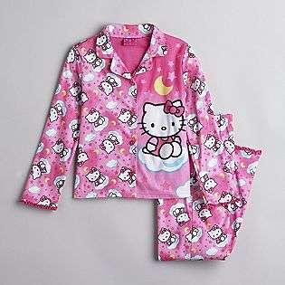 Girls 4 10 Coat Pajamas  Hello Kitty Clothing Girls Sleepwear