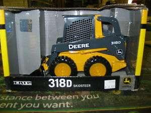 Ertl John Deere 318D Skid Seer Toy Model 116 Scale NEW |