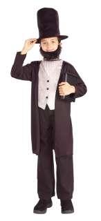Child Large Kids Abraham Lincoln Costume   Civil War Co