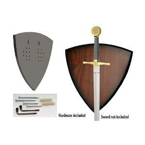 Edge   SZ210654 , SHIELD UNIVERSAL SWORD PLAQUE
