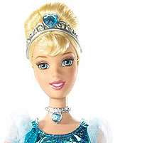 Disney Princess Shimmer Princess Cinderella Doll   Mattel   Toys R