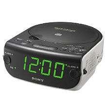 Sony CD Clock Radio   Sony Electronics