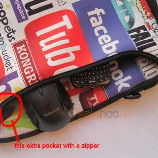 17 17.3 Laptop Netbook Bag Case+Handle+Shoulder Strap