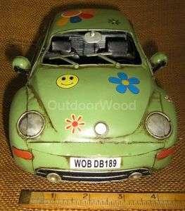 Volkswagen Beetle Flower Power Car Hippie Retro Look 1970s NEW