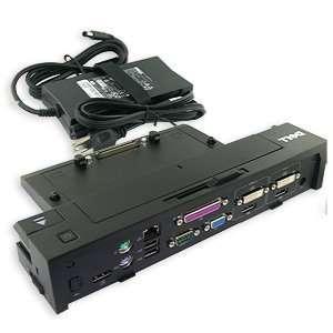 E Port Plus Replicator with 130 Watt Power Adapter for Dell