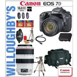 Lens + Canon Deluxe Gadget Bag + 2 Transcend 32GB Compact Flash
