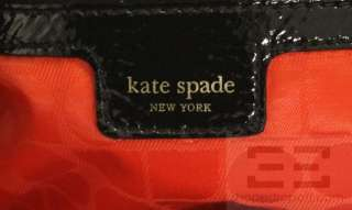 Kate Spade Black & White Zebra Print & Bow Large Shoulder Bag