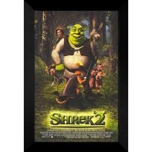 Shrek 2 27x40 FRAMED Movie Poster   Style E   2004: Home