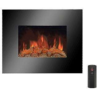 Wall Hanging Infrared 1000 Square Foot Infrared Fireplace  Lifesmart