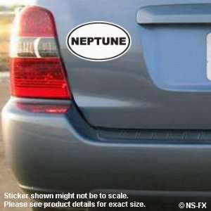 NEPTUNE EURO OVAL   STICKER DECAL   #S039 Automotive