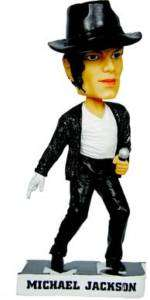 MICHAEL JACKSON KING OF POP BOBBLE HEAD DOLL
