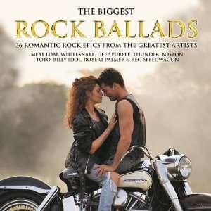 Biggest Rock Ballads Various Artists Music