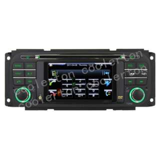 2004 Jeep Grand Cherokee Dodge Chrysle Car DVD GPS Player 4.3 SWC 2 Z