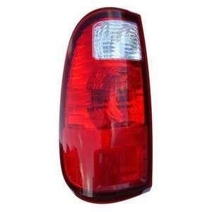 08 Ford Super Duty rectangular TAIL LIGHT LAMP LEFT NEW