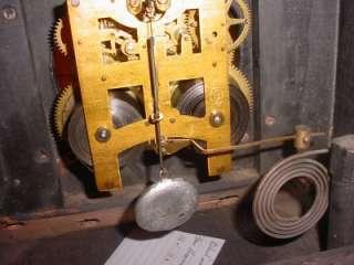 Vintage New Haven Faux Marble Mantel Shelf Clock Restoration