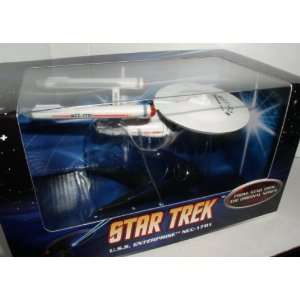 HOT WHEELS STAR TREK USS ENTERPRISE 1701 : Toys & Games :