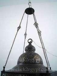 Antique Moroccan Style Art Large Hanging Lamp/Lantern