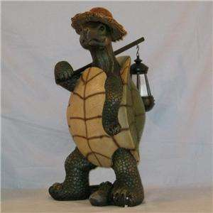 Country Roads Light Turtle Figurine with Lantern