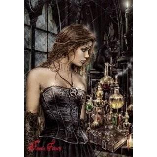 Victoria Frances ~ La Mourte ~ Textile Fabric Poster ~ 40