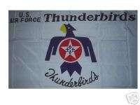United States Air Force Thunderbirds Flag 3X5