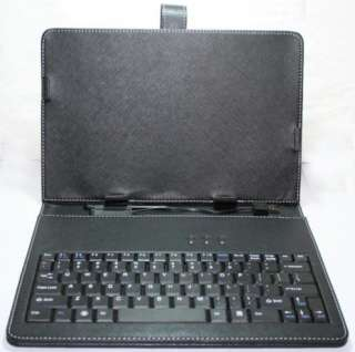 C91 epad Android Tablet Leather USB Keyboard Carry Case+Stylus