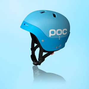 Poc Frontal Light Blue MED Helmet 2012