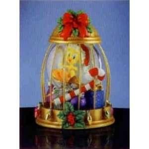 Looney Tunes Tweety in Cage Christmas Globe SF Music