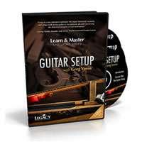 LEARN & MASTER GUITAR SETUP & MAINTENANCE TUTORIAL DVD