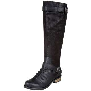 New Chinese Laundry Park Knee High Tall Riding Boot Shoe Black