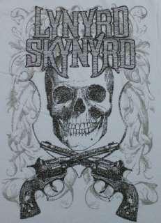 Guns Pistols Long Sleeve Crewneck T Shirt Rock & Roll NWOT