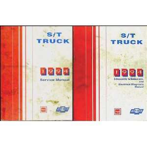 Sonoma Jimmy Repair Shop Manual Set Chevy GMC Truck General Motors