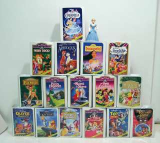 Lot of 16 Walt Disney Masterpiece Collection McDonalds Happy Meal Toys
