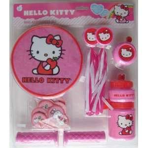 Hello Kitty Bike Accessories Set with Bike Bell, Handle