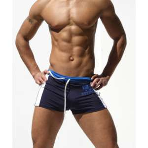 RUFSKIN NAVY ALTO PERFORMANCE MUSCLE JOCK GYM SHORTS S
