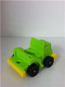 Vintage Fisher Price Little People Green Semi Truck