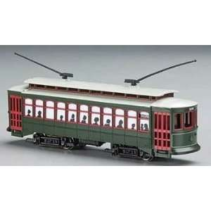 Bachmann Brill Trolley New Orleans (Desire St.) with Die Cast