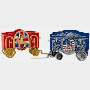 K line Trains 6 22411 Tableau Circus Wagon Set Toys