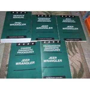 2004 Jeep Wrangler Service Manual  Including Body, Chassis, Powertrain